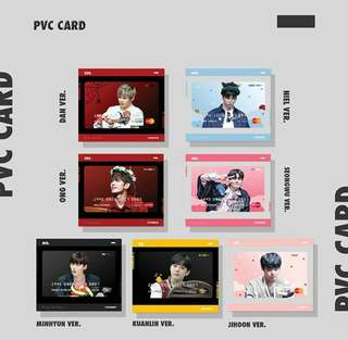 Wanna One (PVC CARD)