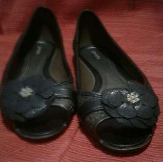 grendha peep toe flats S5