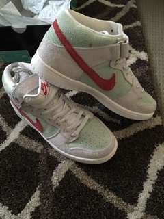 Nike sb dunk mid pro Spring count canvas old grey