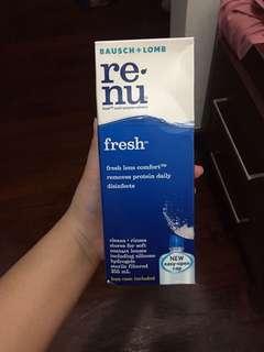 Renu fresh bausch + lomb