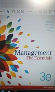 Introduction To Management (E-text)