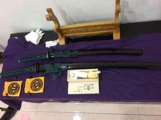 Pedang katana , samurai sword