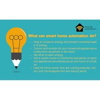 🚚 Hom-Me Smart Home Automation Service