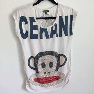 Paul Frank monkey shirt