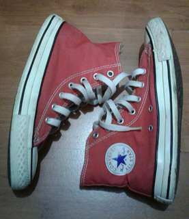 CONVERSE red S5 (authentic)