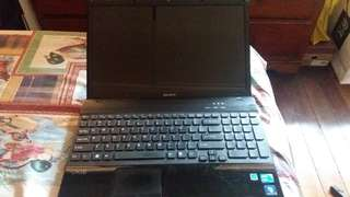 15 inch Sony Vaio laptop (still negotiable)