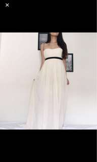 Long, elegant, stunning dress for rm80 with free postage!