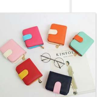 Fashion Korea Ladies Short Wallet