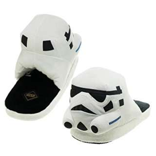 Bioworld Star Wars Storm Tropper White Slide Slippers XL 12-13 - NWB