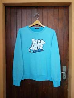 Undefeated 05 Blue Submarine Logo Crewneck sz Small