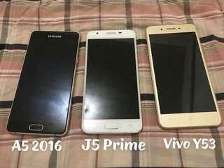 A5 2016, J5 Prime, Vivo Y53
