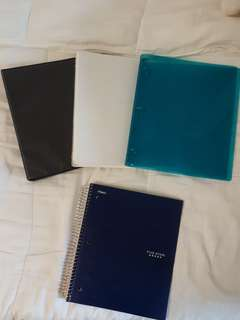 Binders and Notebook