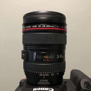 Canon 24-105mm F/4 L Lens