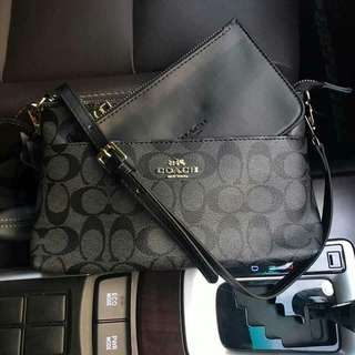 Coach sling bag authentic