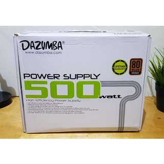 Power Supply Dazumba 500 Watt Modular