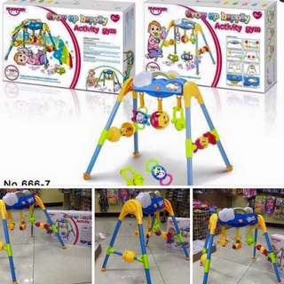 Growing up happily activity gym