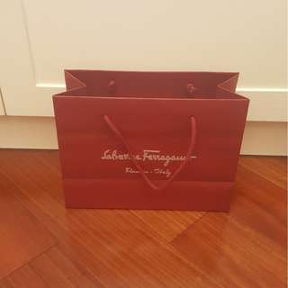Salvatore Ferragamo 紙袋 / Salvatore Ferragamo Paper Bag (Made in Italy)