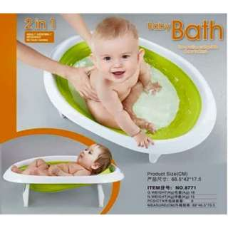 Baby bath 2in1