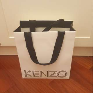 Kenzo 紙袋 (無貼紙) / Kenzo Paper Bag (No Sticker)