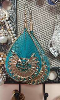 Brand new teal earrings