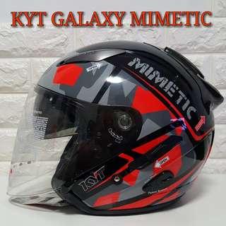 Kyt Galaxy Helmet MIMETIC (Dual Visor)