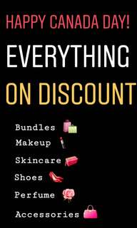 Special Discount on all items