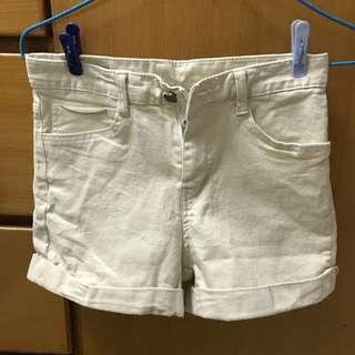 米白色短褲 -5kg
