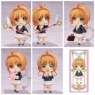 (PO) Nendoroid Sakura Kinomoto: Tomoeda Junior High Uniform Ver. (GSC BONUS)