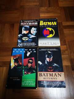 Batman movies books novel
