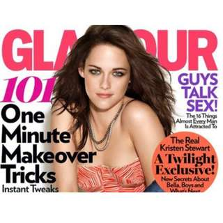 Glamour magazine November 2011 Kristen Stewart