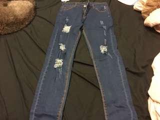 🚚 藍色牛仔褲