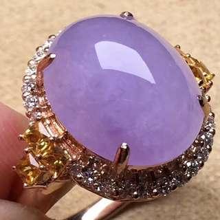 紫羅蘭戒指Lavendar Ring