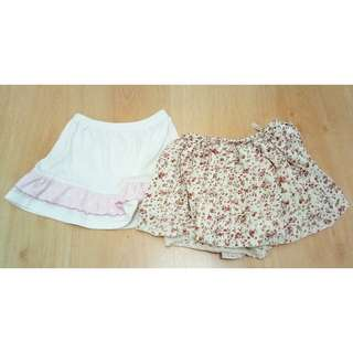 2pcs Baby Girl Skirt
