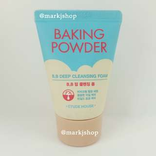 ETUDE HOUSE BAKING POWDER BB DEEP CLEANSING FOAM 30ML