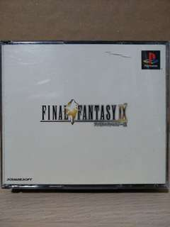 PS1 - Final Fantasy IX (Japanese Ver.)
