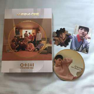 [WTS] WANNA ONE I PROMISE YOU DAY VER UNSEALED