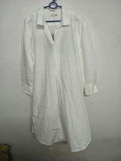 Padini White shirt skirt