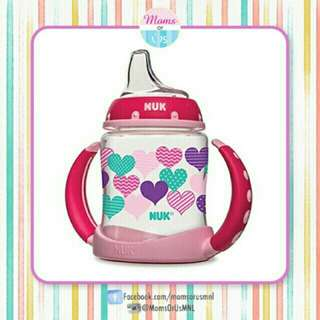 ‼️RESTOCK‼️ NUK Learner Cup 5oz Pink