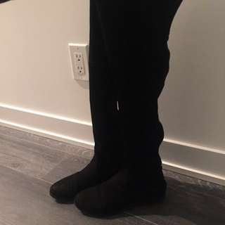 SIZE 8 STEVE MADDEN OVER THE KNEE / THIGH HIGH BOOTS