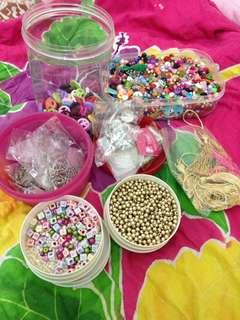 Gelang dan kalung handmade