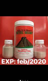 COCOK BUAT KULIT BERUNTUSAN & JERAWAT!!! [Share in jar 10gr, 30gr, 50gr !! ] the aztec secret indian healing clay