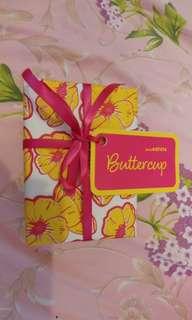 BNIB Lush Buttercup Bath Bomb Gift Wrap