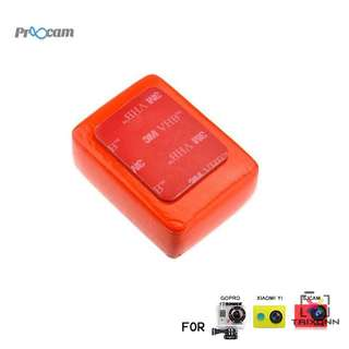 Proocam Pro-J046 Floaty Sponge with 3M sticker for Gopro Hero 5,4, 3, 2, 1 Action camera