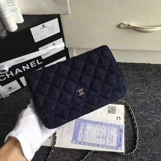 Chanel WOC denim