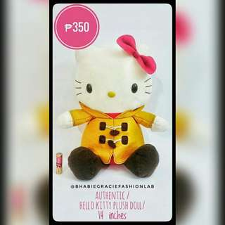 Hello Kitty Authentic Stuffed Toy fr Japan