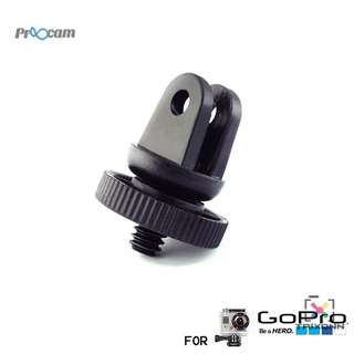 Proocam Pro-J060 Mini Adaptor for suction cup for Gopro Hero 5/4s/4/3+3/2/1