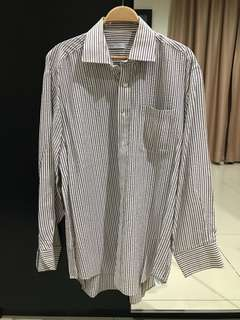 Gianni Paolo Striped Shirt (Size XL)