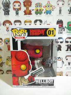 Funko Pop Hellboy Vinyl Figure Collectible Toy Gift Movie Comic Super Hero