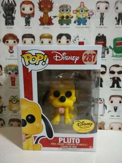 Funko Pop Pluto Disney Exclusive Vinyl Figure Collectible Toy Gift Movie Cartoon