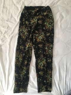 ASOS Floral chiffon harem pants